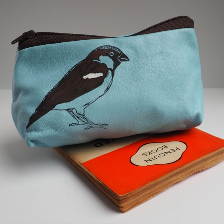 Small Sparrow Make Up Bag