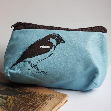 Small Sparrow Make Up Bag